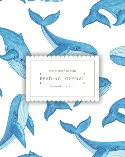 Whales Book Favorite (Reading Journal: Little Cute Blue Whale Best Track Your Favorite Books (8x10 inches) - Over 100 pages)