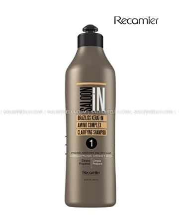 Recamier SalonIn Braziliss Kerat-in Amino Complex Clarifying Shampoo Frizzed, Damaged and Dry Hair