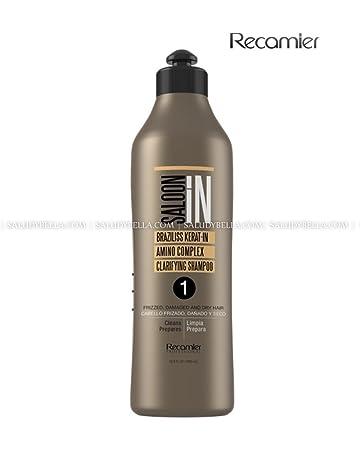 Recamier SalonIn Braziliss Kerat-in Amino Complex Clarifying Shampoo Frizzed, Damaged and Dry Hair