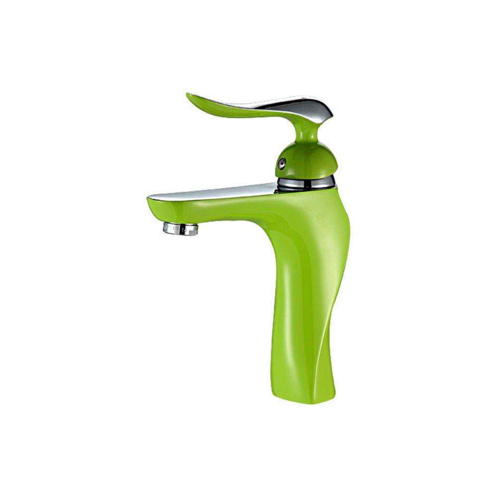 MEIBATH Wasserhahn Küche Mischbatterie Spülbecken Armatur Küchenarmatur Spültischarmatur Verchromtes Messing Farbe Heiß und Kalt Wasserhahn