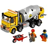 LEGO CITY - Grandes vehículos: hormigonera (60018)