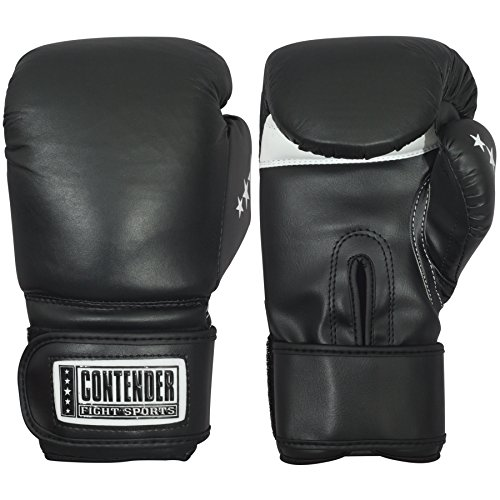 Contender Fight Sports Leather Boxing Bag Gloves (X-Large) ()