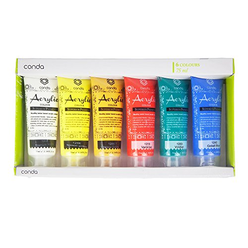 acrylic-paint-set-75ml-6-tube-conda-paint-studio-set-perfect-for-paperstretched-canvas-wood-plaster-