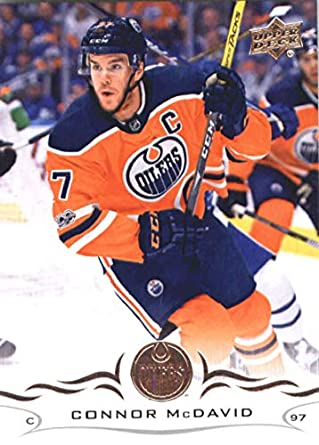 2018-19 Upper Deck  75 Connor McDavid Edmonton Oilers NHL Hockey Trading  Card da0d2cda4