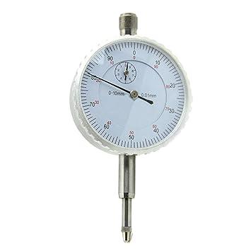 0,1 mm Genauigkeit Anzeige Test Messbereich 0 10 mm 2 Stück Messuhren
