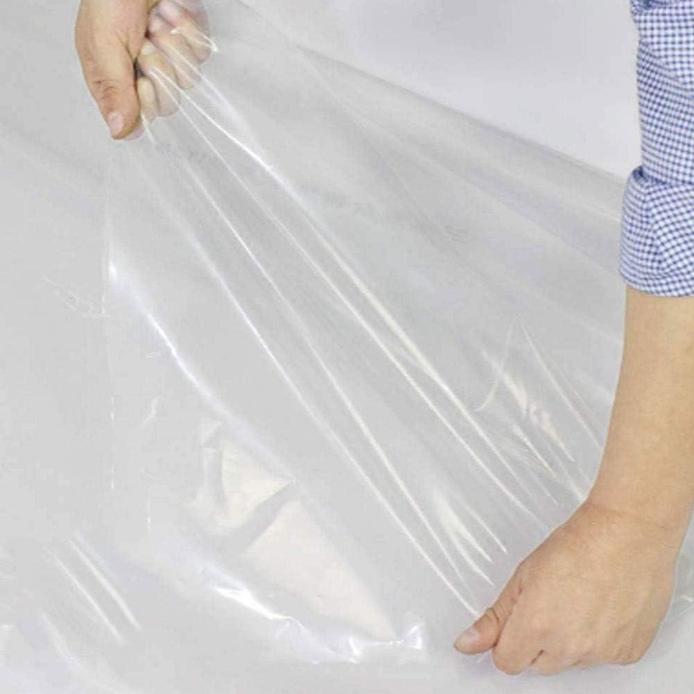 Resistente Al Agua Y A Los Rayos UV para Tienda De C/ámping Jard/ín Familia Lona Plastico Transparente con Ojales para Protecci/ón Exterior Lona De Protecci/ón Impermeable