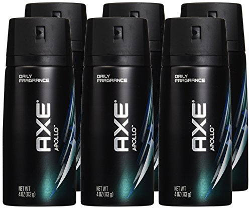 AXE Body Spray Deodorant Apollo 150 Ml / 5.07 Oz (Pack of 6)