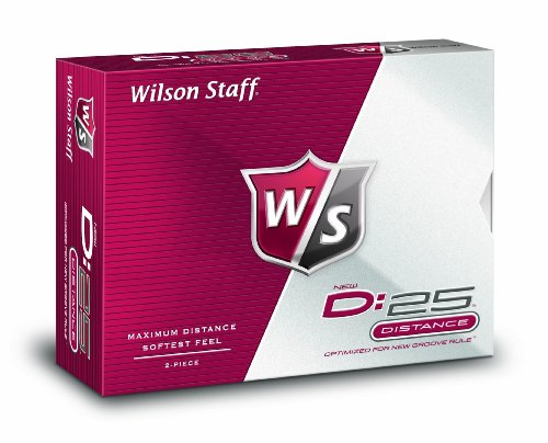 Wilson Staff D:25 Golf Balls (12-Balls), Outdoor Stuffs