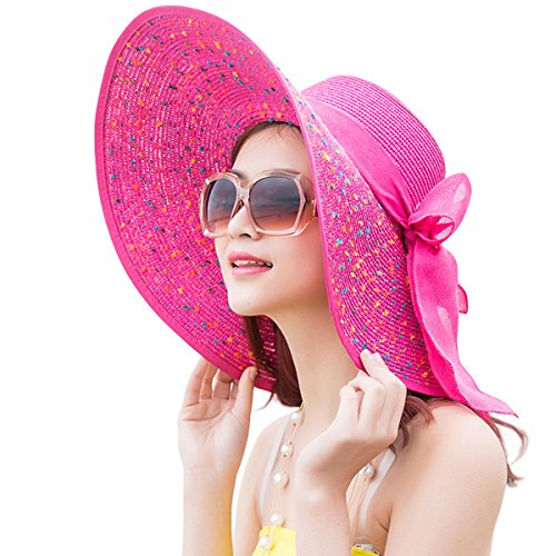 Large Rose Sun Hat - 6