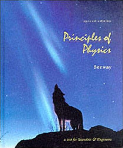PRINCIPLES OF PHYSICS 2E (Saunders golden sunburst series)
