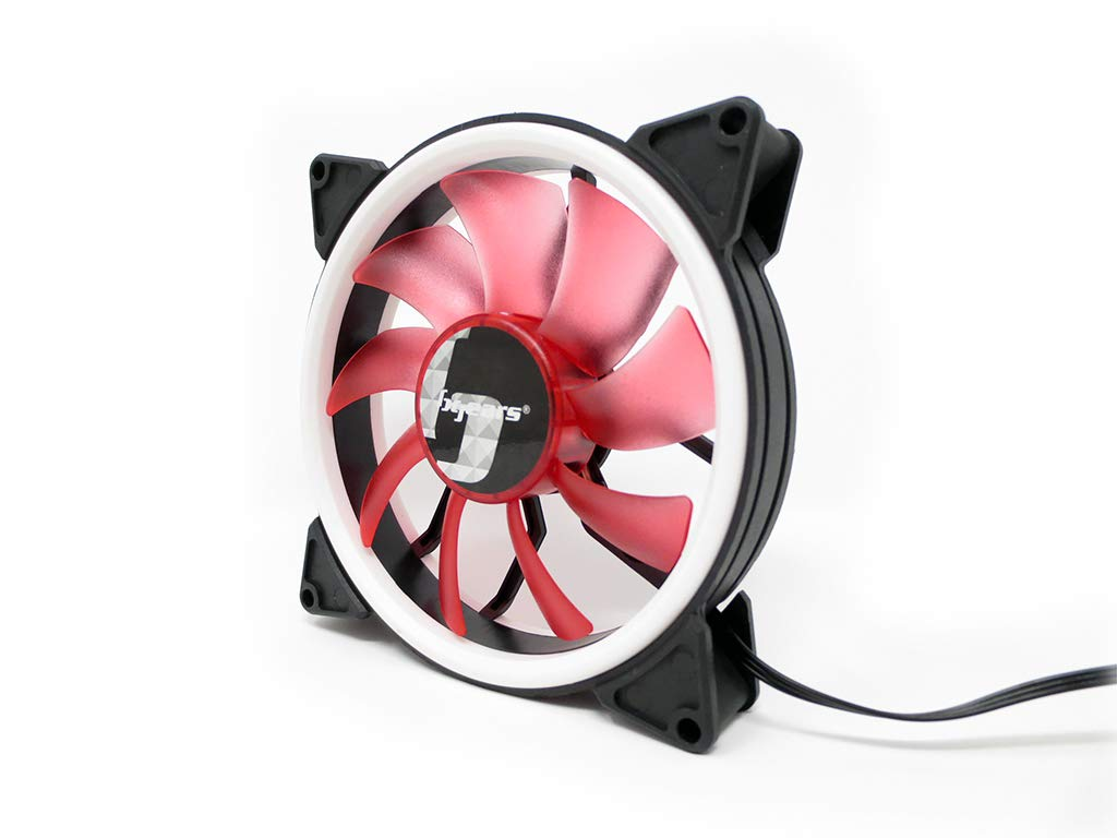 Bgears b-DualRing 120 Red Cooling Red