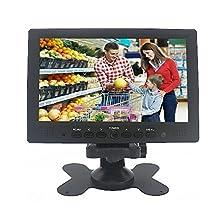 Sourcingbay MOT-YT07P 7-Inch Digital TFT-LED Color Receiver Car/PC Monitor HDMI/VGA/AV Input (Black)