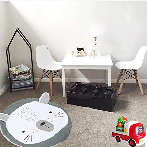 Katoot@ Rabbit Mat Carpet Bunny Rug Floor Blanket New Lovely Cute Home Living Room Bedroom Baby Children Play Gmae Decoration