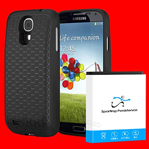 Accessory Capacity 7980mAh Extended Battery Thicker Back Cover TPU Case for Verizon Samsung Galaxy S4 I9500 SCH-I545 Smartphone