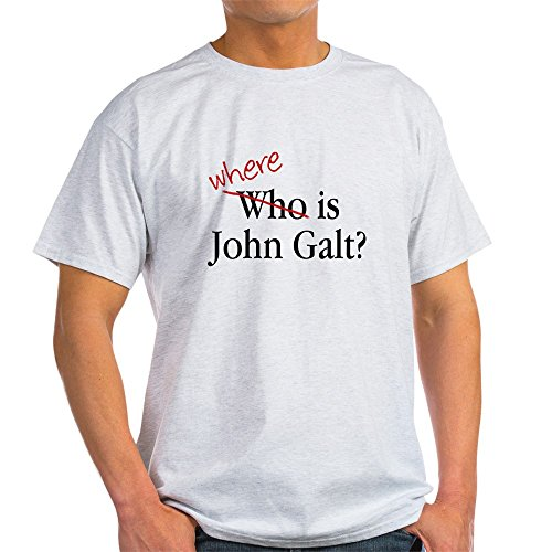 CafePress - Where is John Galt? T-Shirt - - Where Is Rand