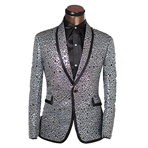 [Vazpue Suits 2016 XS-6XL Slim Fit Blazer Men Suits Performance Tuxedo Party Prom Wedding Costume Homme Customization Service Provided] (Yellow Rain Jacket Costume)
