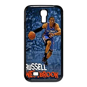 C-EUR Customized Russell Westbrook Pattern Protective Case Cover for Samsung Galaxy S4 I9500