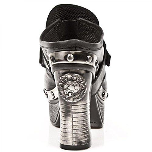 New Rock Boots M.z002-c16 Elegante Urban Rock Damen Sneeker Schwarz