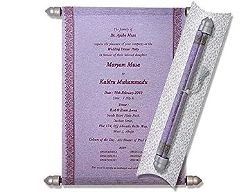 Cheap Scroll Invitations Scroll Wedding Invitations Wedding