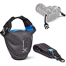 Miggo MM30499 Agua Medium SLR Stormproof DSLR Holster Bags & Cases, Black