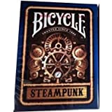 Bicycle Blue Steampunk Playing Cards