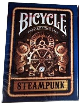 Bicycle Blue Steampunk Playing Cards 3