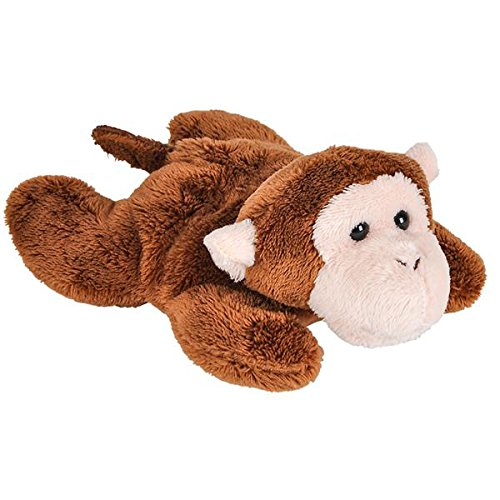 Monkey Jungle Animal (Wildlife Tree 3.5 Inch Monkey Mini Small Stuffed Animals Bulk Bundle of Zoo Animal Toys or Jungle Safari Party Favors for Kids Pack of 12)