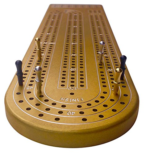 quality-gold-cribbage-board-by-gapple-durable-aluminum-material-precise-engraving-gorgeous-anodized-