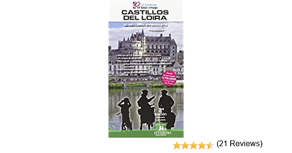 Castillos del Loira: El río Loira en bicicleta bici:map: Amazon.es ...