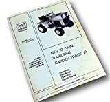 Sears Owners Manual Gtv 16 Twin Varidrive Garden Tractor Operation Parts Manual