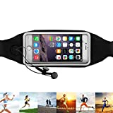 Running Belt Waist Pack, OmeGod Running & Fitness Sweat-Proof Reflective Fanny Pack for Running, Walking Dogs, Hit the Gym, Work Outdoors, Fits iPhone 6 6s 6 Plus 5 5s 4 4s & Samsung Galaxy S6 S5 etc