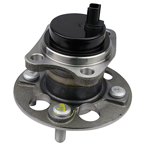 CRS NT512370 New Wheel Bearing Hub Assembly, Rear Left (Driver)/Right (Passenger), For TOYOTA YARIS (ABS) 2006-2016/PRIUS (Prius C) 2012-2016, w/4 Stud - Rear Hub Abs