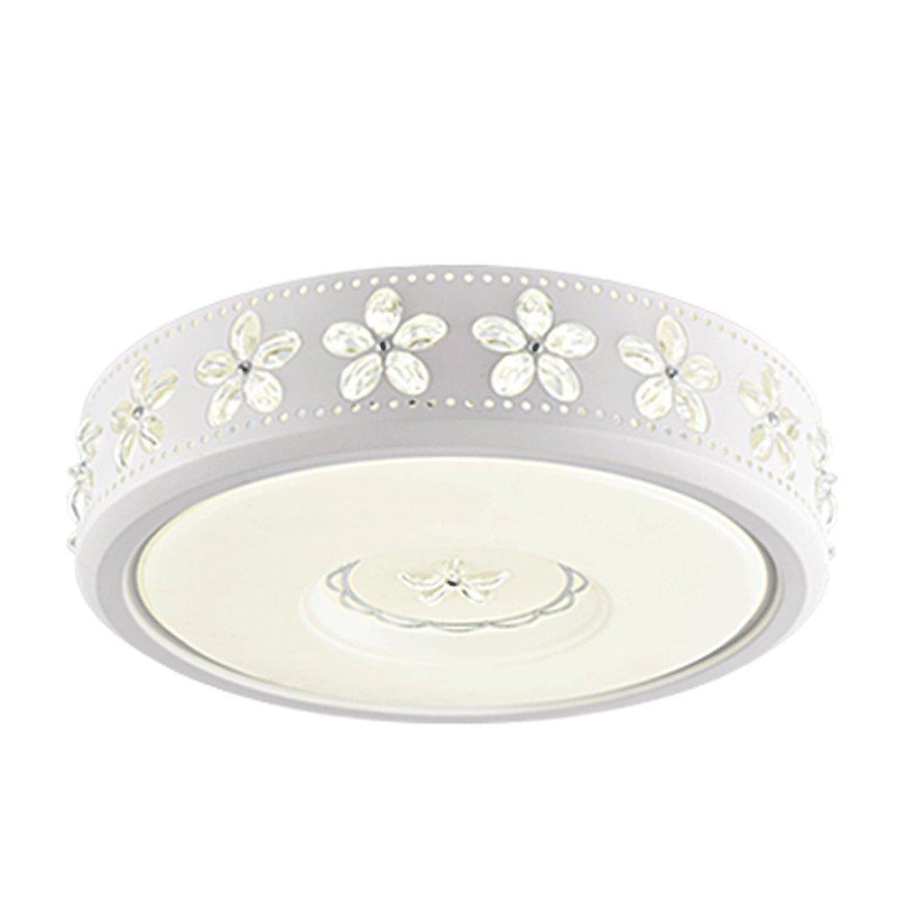 Deckenleuchte YYF LED Acryl-Schlafzimmer Beleuchtung Moderne und einfache Runde Restaurant Licht Schlafzimmerbeleuchtung (Größe   L)