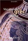 Vocabulaire grec de base par Byl
