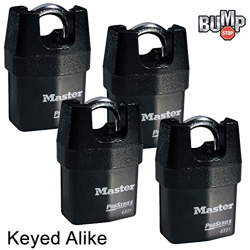Master Lock Security Padlocks 6321NKA 4