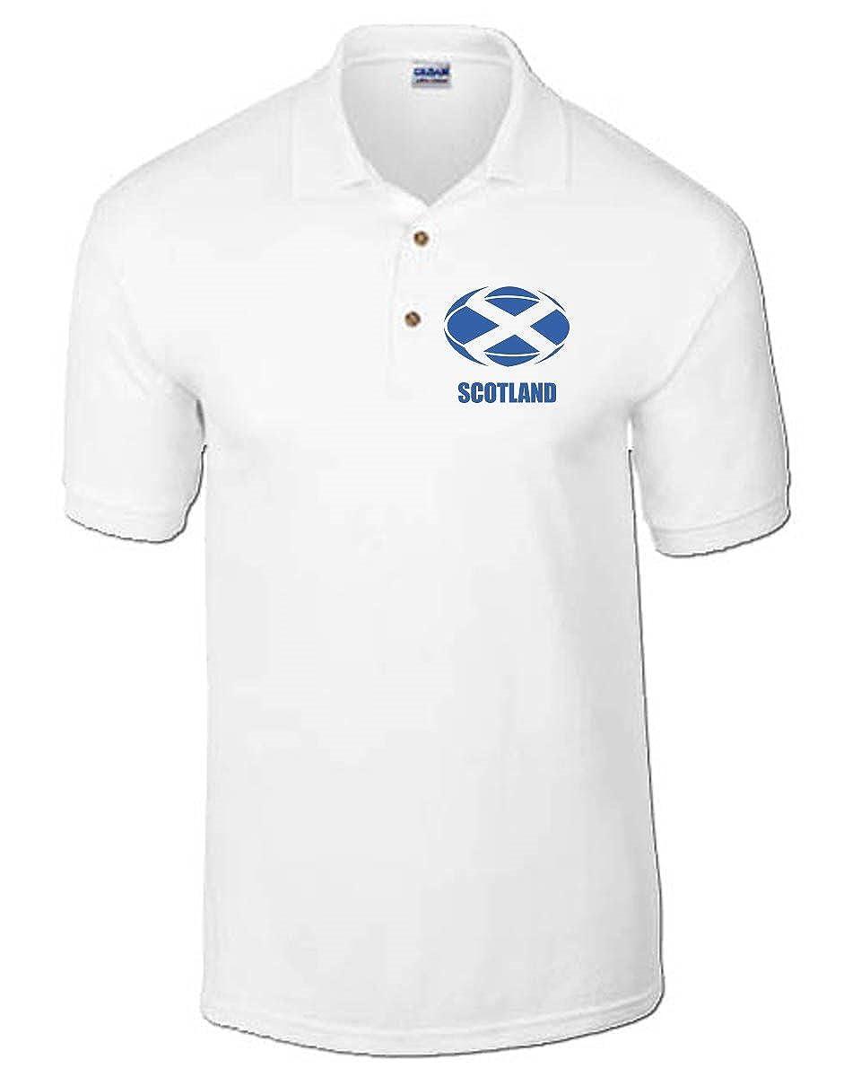 T-Shirtshock - Polo T0927 scotland rugby calcio ultras, Talla XXL ...