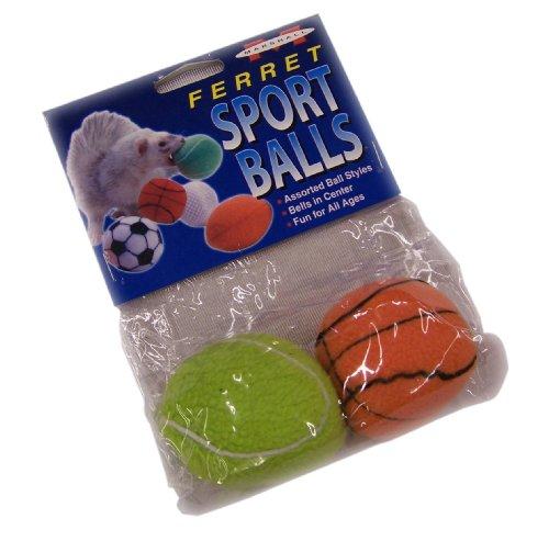 (Marshall Ferret Sport Balls Asst, 2-Pack)