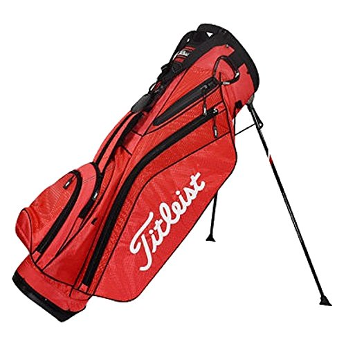 Titleist 2015 Single Strap Stand Golf Bag, Red, Standard