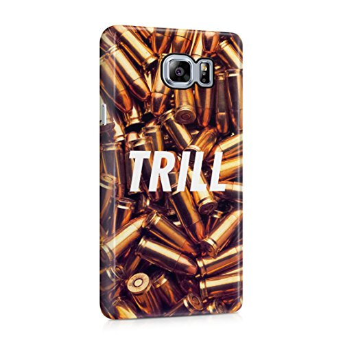 Trill High Life War Fight Wartime Golden Bullets Plastic Phone Snap On Back Case Cover Shell For Samsung Galaxy Note 5 (Note Wartime)