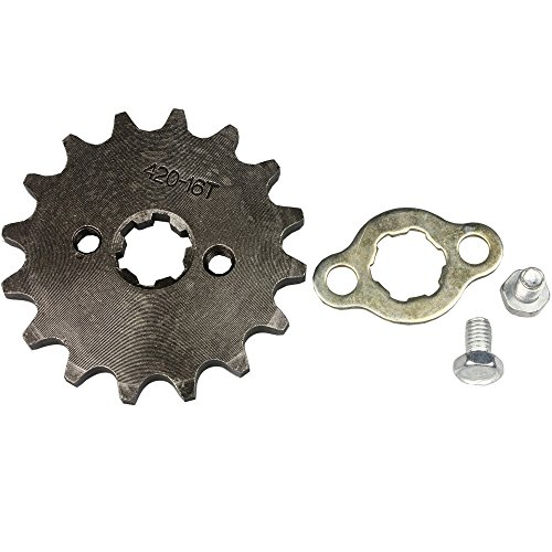 Wingsmoto Sprocket Front 420-16T 17mm Motorcycle ATV ()