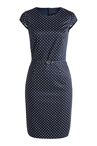 Damen 400 Collection ESPRIT Kleid Navy Blau 5Syqg