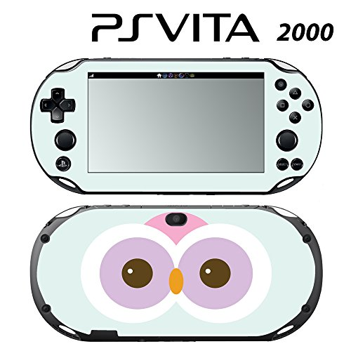 Skin Decal Cover Sticker for Sony PlayStation PS Vita Slim (PCH-2000) - Cute Owl -  Decals Plus