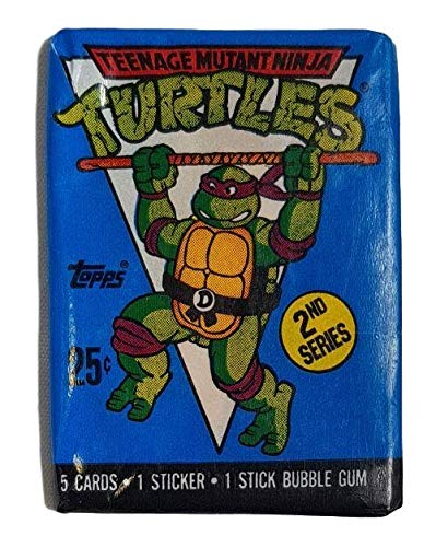 1990 Topps Teenage Mutant Ninja Turtles Animation Cards 2nd Series