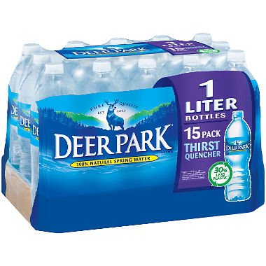 Deer Park Natural Spring Water (1L bottles, 15 pk.) -