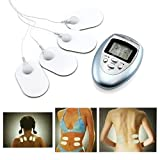 Healthy Care Full Body Massager Slimming Massage Electric Slim Pulse Muscle Relax 4 Pads