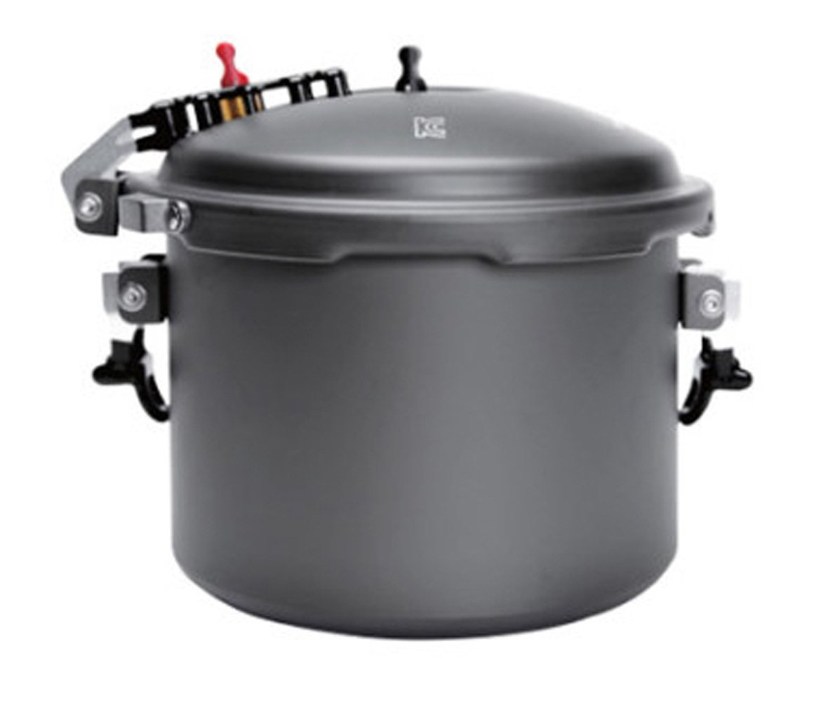 Snow line Camping Outdoor Pressure Cooker Portable Rice Cooker (2.4L 2-3 People)
