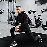 LEICHR Men Compression Shirt Long Sleeve, Cool Dry