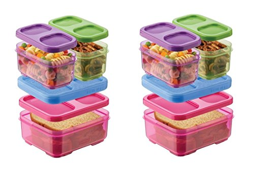 Rubbermaid Lunch Blox Kids Lunch Kit,