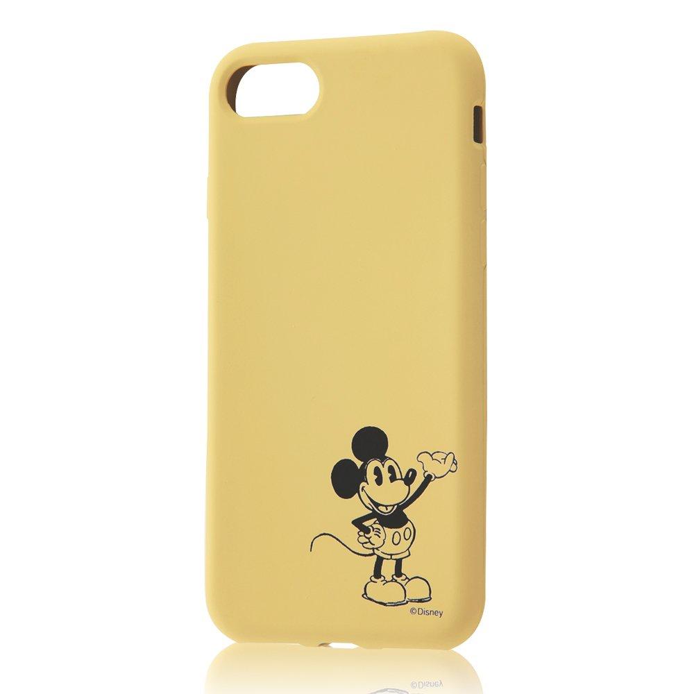 イングレム iPhone 7 ディズニー シリコンケース カーヴィング/ミッキーマウス IN-DP7C/MK