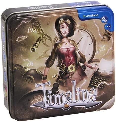 Asmodée Games - Timeland, Juego Educativo (ASMPJHA03) (versión en ...